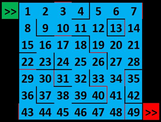 Le labyrinthe (1) - Jeu à durée indéterminée Captur11