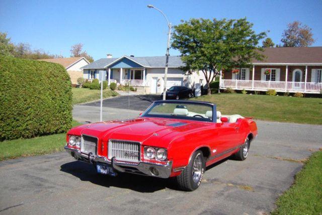 1971 Oldsmobile Cutlass décapotable _27_1110