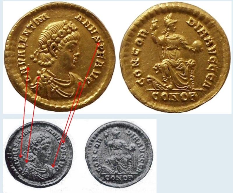 solidus Valentinien II Khfgiu10
