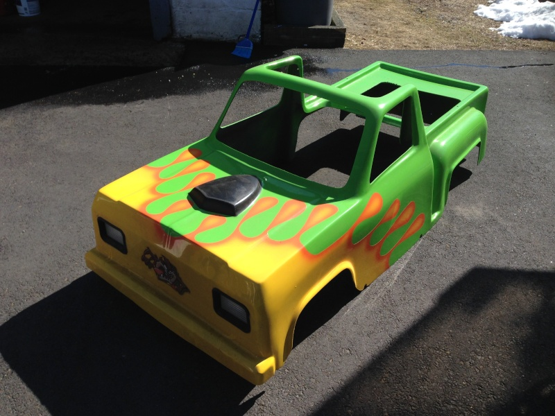My kids Mini Monster Truck Go- Kart Img_0511