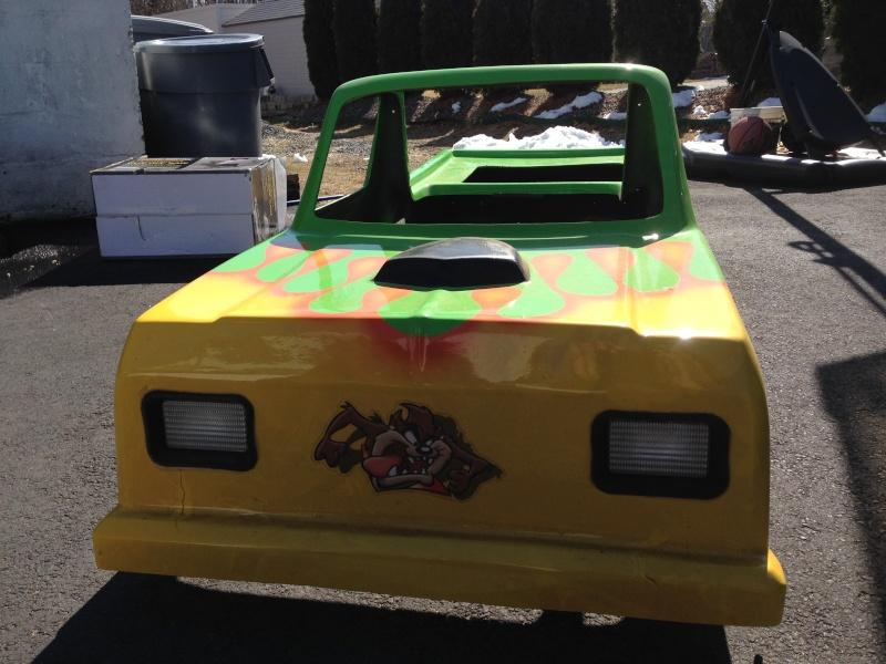 My kids Mini Monster Truck Go- Kart Img_0512