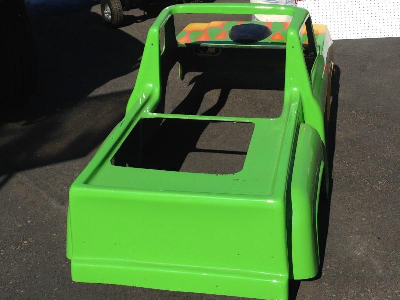 My kids Mini Monster Truck Go- Kart Img_0513
