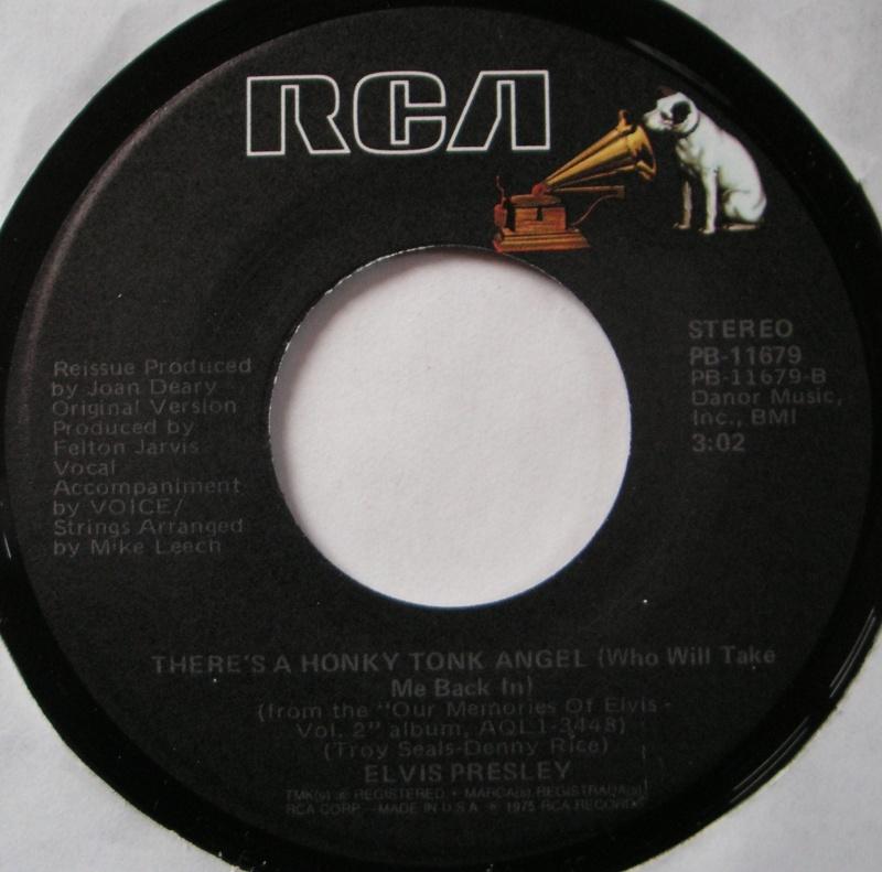 I Got A Feelin' In My Body / There's A Honky Tonk Angel 12c10