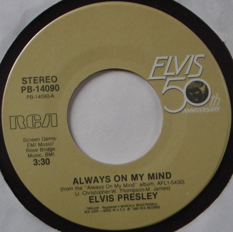 Always On My Mind / My Boy 14c10