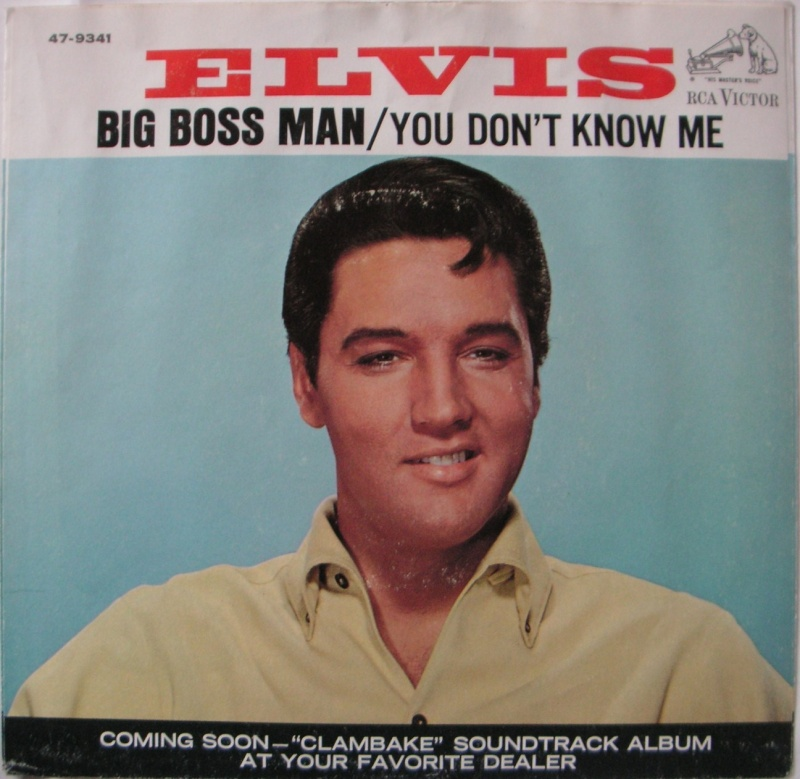 Big Boss Man / You Don't Know Me 17a10
