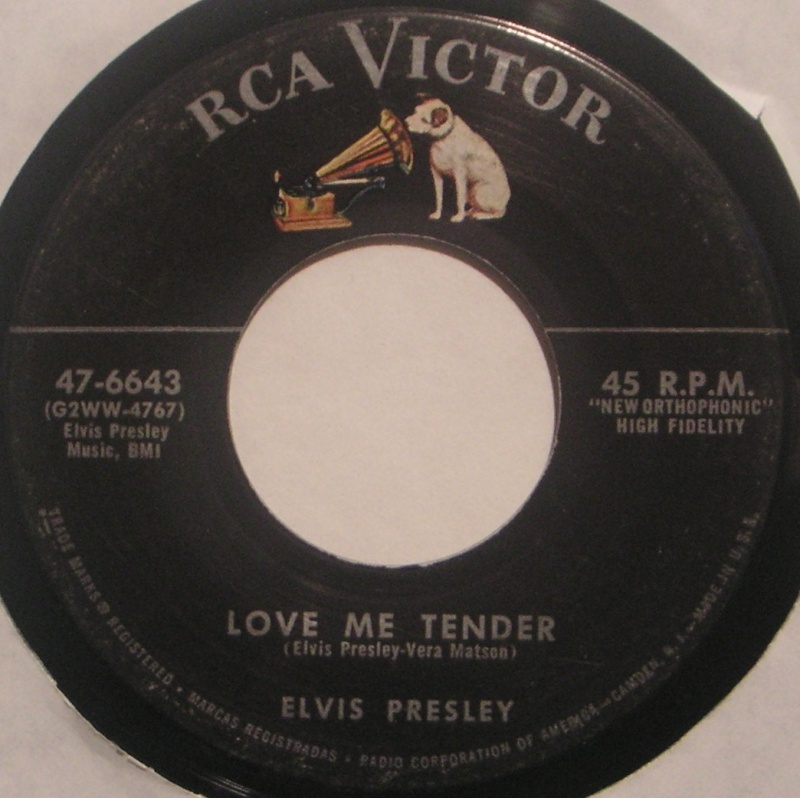 Love Me Tender / Any Way You Want Me 1b16