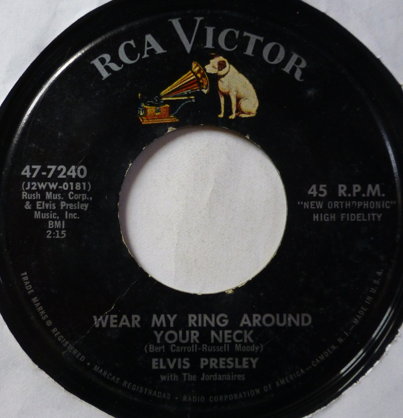 Wear My Ring Around Your Neck / Doncha' Think It's Time 1b19