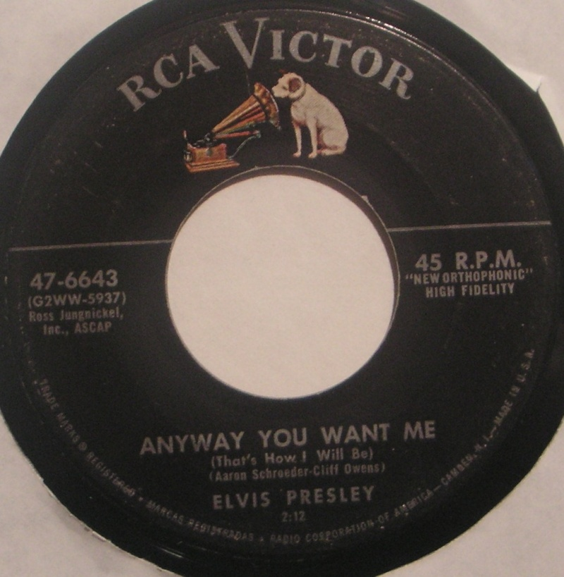 Love Me Tender / Any Way You Want Me 1c16