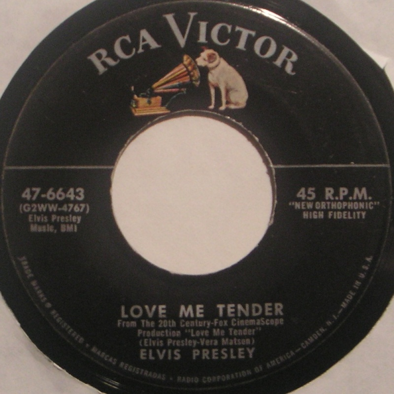 Love Me Tender / Any Way You Want Me 2a16