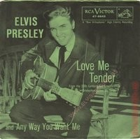 Love Me Tender / Any Way You Want Me 47-66414