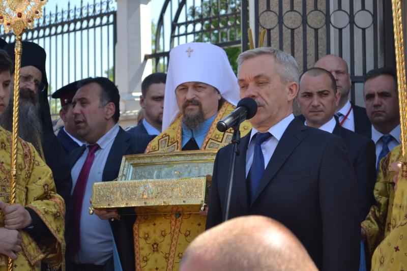 Десница святого Георгия на Белгородской земле 1129