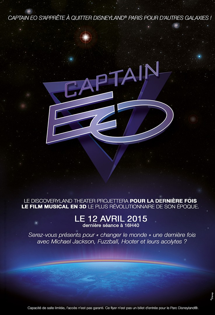 [Attraction] Captain Eo : dernière séance le 12 avril 2015 à 16h40 - Page 32 Affich10