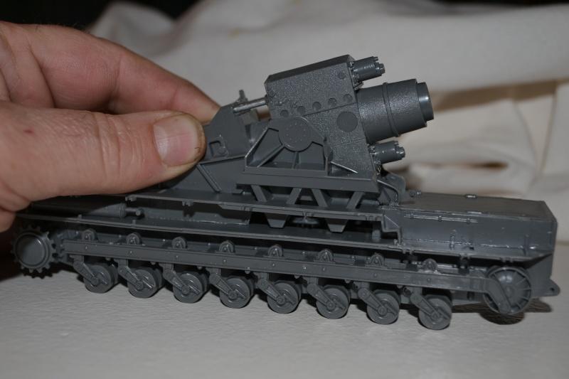 Mörser Karl et Munitionspanzer IV Hasegawa 1/72 Dsc_2220