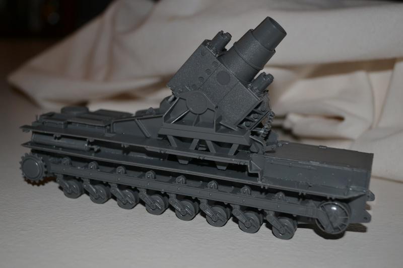 Mörser Karl et Munitionspanzer IV Hasegawa 1/72 Dsc_2221