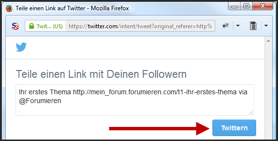 [Neue Funktion] Twitter-Button Update12