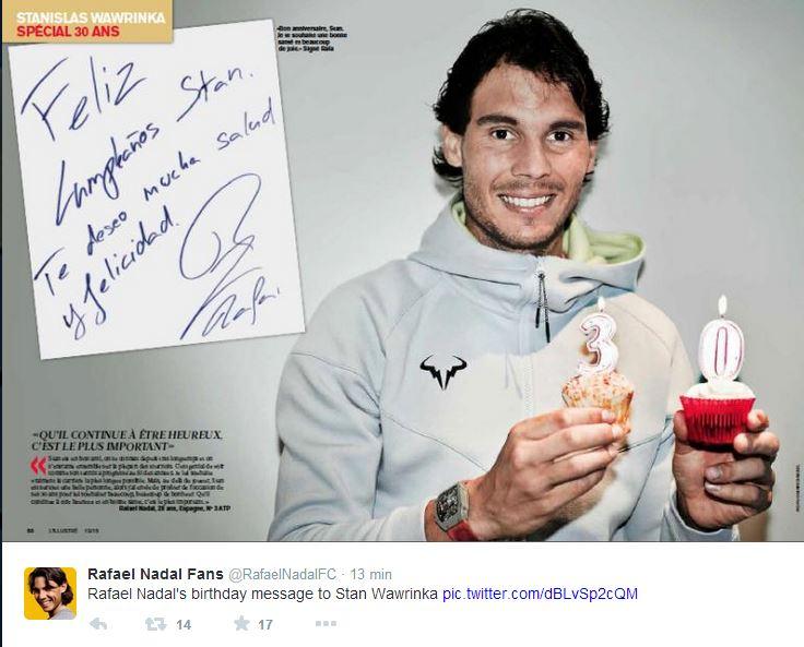 STAN WAWRINKA (Suisse) - Page 5 Nadal10