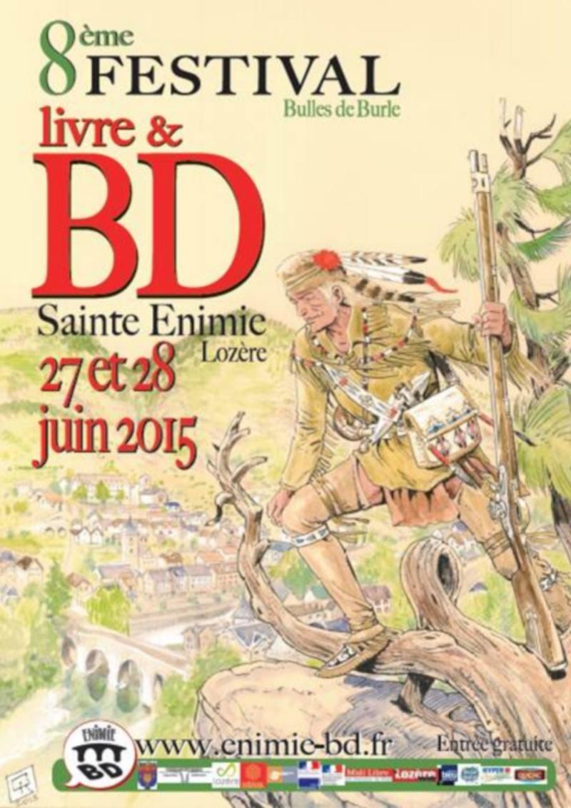 Festival Livres et BD Sainte Enimie 27 et 28 juin 2015   Festiv13