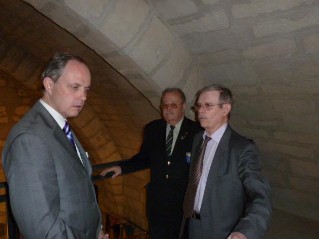Le Mémorial accueille le Duc d'Orleans ! Mymori18