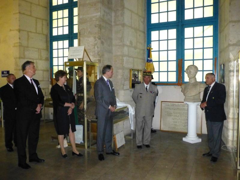 Le Mémorial accueille le Duc d'Orleans ! P1120515