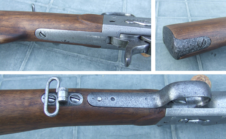 Fabrication crosse pour Winchester 1885 High Wall - Page 2 Encast11