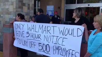 "MYSTERY SURROUNDS WAL-MART BIZARRE COVER STORY OF CLOSING FIVE STORES FOR SIX MONTHS DUE TO ""PLUMBING PROBLEMS"" Walmar10"