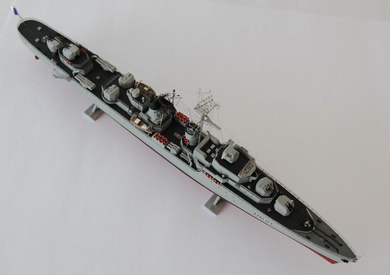 Escorteur Surcouf Heller 1/400 et kit l'arsenal Img_8810