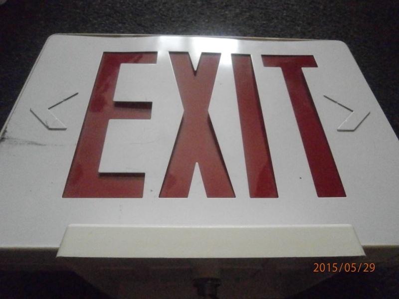 EXIT sign Exit210