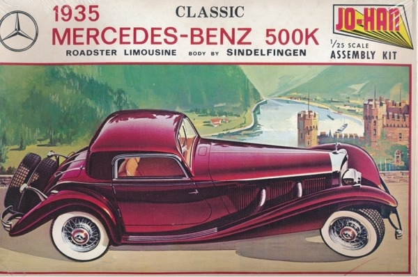 1935 Mercedes-Benz 500K Post-210