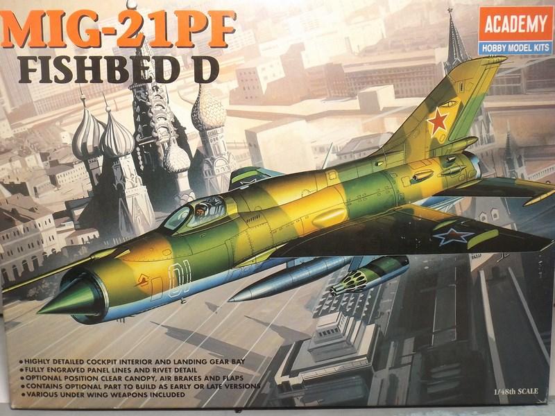 """Mikoyan-Gourevitch MiG-21 PF """"égyptien"""" au 1/48 Dscf1313"""