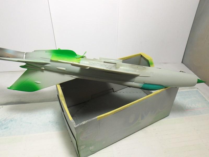 """Mikoyan-Gourevitch MiG-21 PF """"égyptien"""" au 1/48 Dscf1547"""
