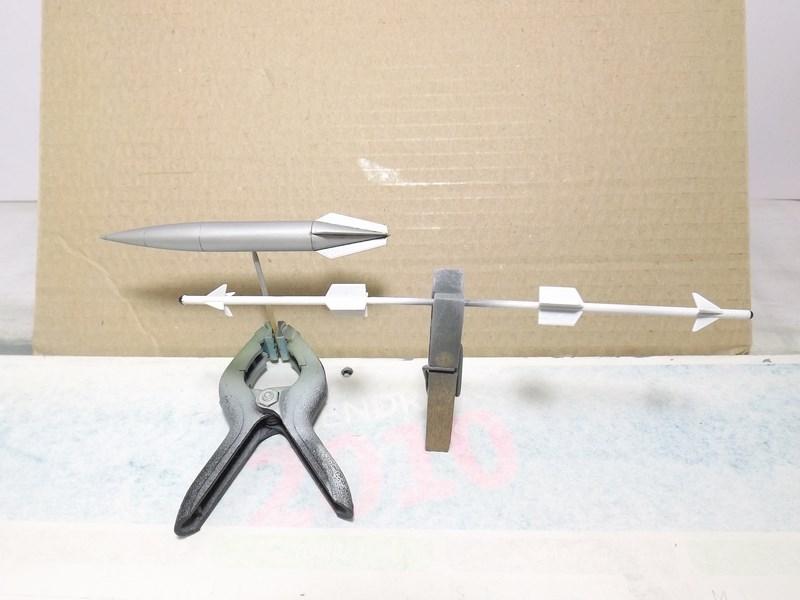 """Mikoyan-Gourevitch MiG-21 PF """"égyptien"""" au 1/48 Dscf1549"""