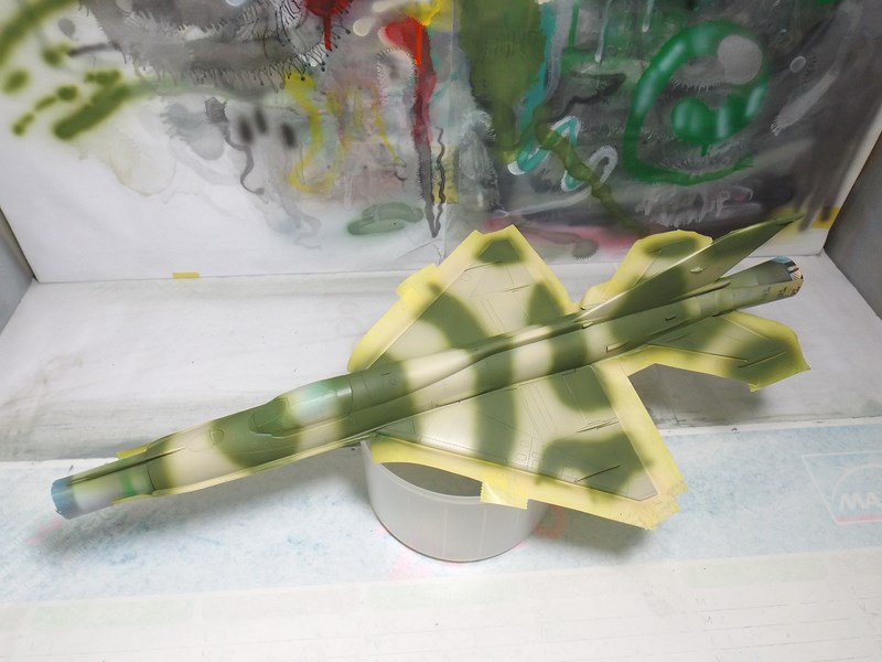 """Mikoyan-Gourevitch MiG-21 PF """"égyptien"""" au 1/48 Dscf1552"""