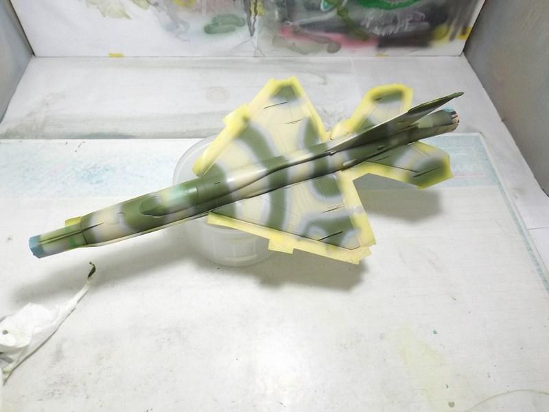 """Mikoyan-Gourevitch MiG-21 PF """"égyptien"""" au 1/48 Dscf1553"""