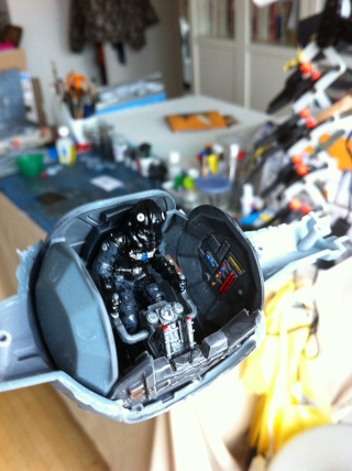 Tie Fighter Easy kit de chez Revell Photo_11