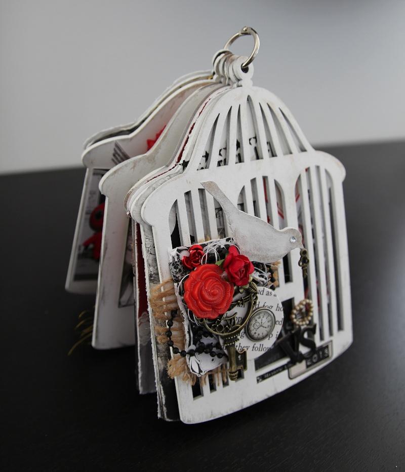 Mini cage à oiseaux SCRAPCOLORS A10