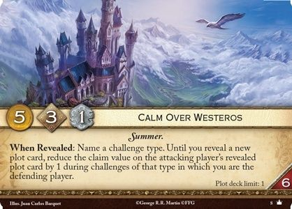 [JCE/LCG] Le Trône de Fer/A Game of Thrones 2nd Edition Calm-o10