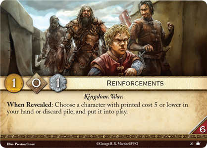 [JCE/LCG] Le Trône de Fer/A Game of Thrones 2nd Edition Reinfo10