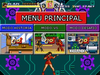 Streets of Rage Remake mod - Power Quest Captur11