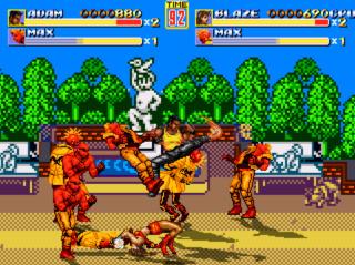 Streets of Rage Remake mod - Power Quest Captur16