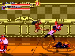 Streets of Rage Remake mod - Power Quest Captur17