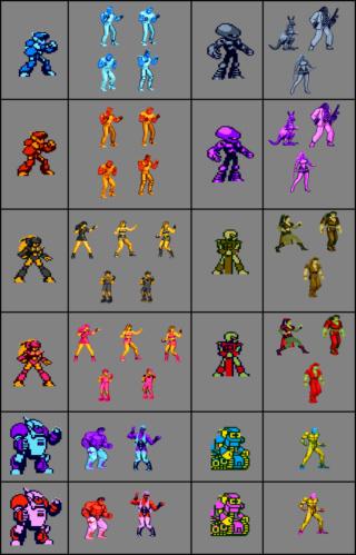 Streets of Rage Remake mod - Power Quest Compar10