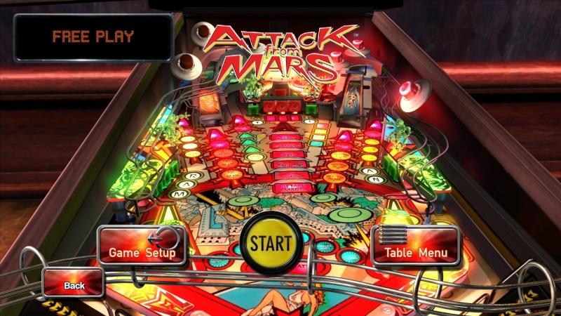 Pinball Arcade : Attack from Mars Attack10