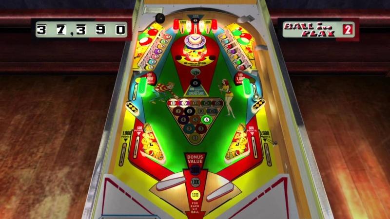 Pinball Arcade : big shot Bigsho10
