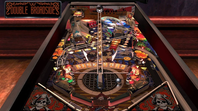 Pinball Arcade : black rose Blackr10