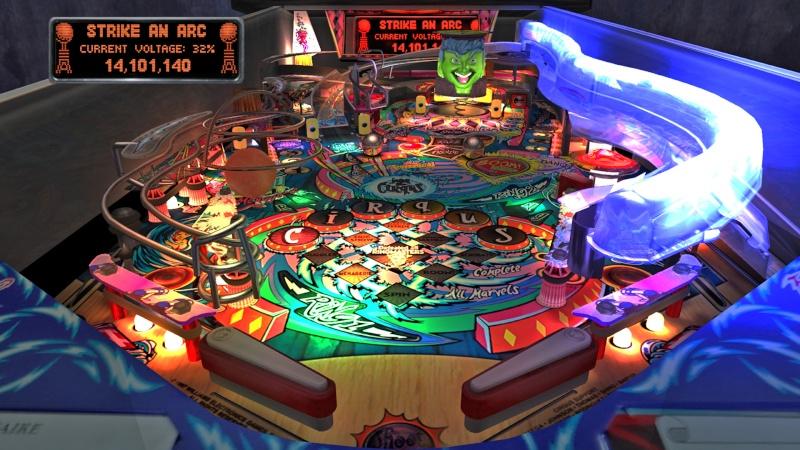 Pinball Arcade : Cirqus Voltaire Cirqus10