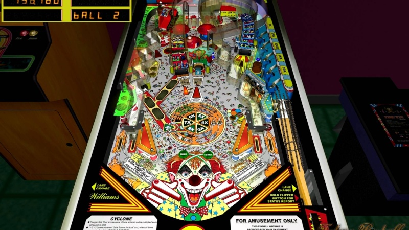 Pinball Arcade : Cyclone Cyclon10