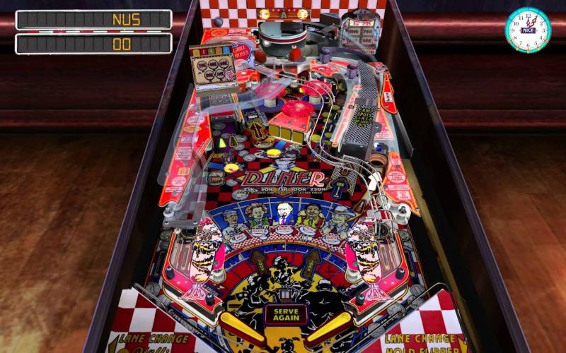 Pinball Arcade: Diner Diner10