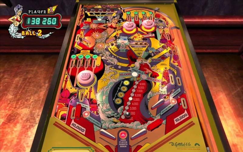 Pinball Arcade : génie Genie10