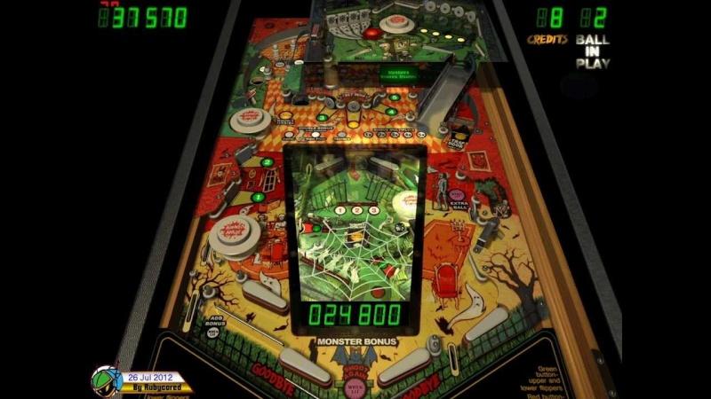 Pinball Arcade : haunted house Haunte10