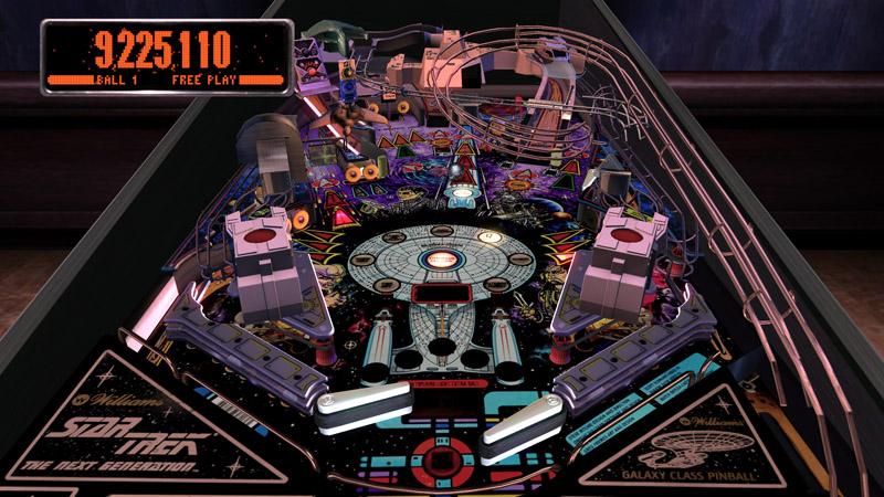 Pinball Arcade : star trek Startr10